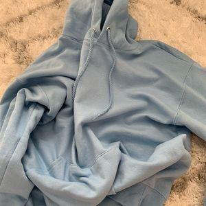 Sweaters - Baby blue hoodie from amazon